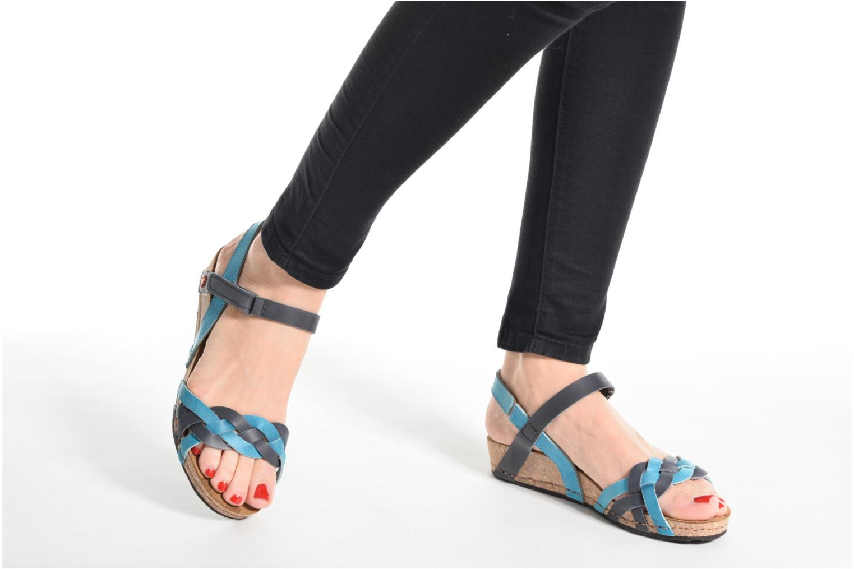 Sandales et nu-pieds Art Pompei 735 Multicolore vue bas / vue portée sac