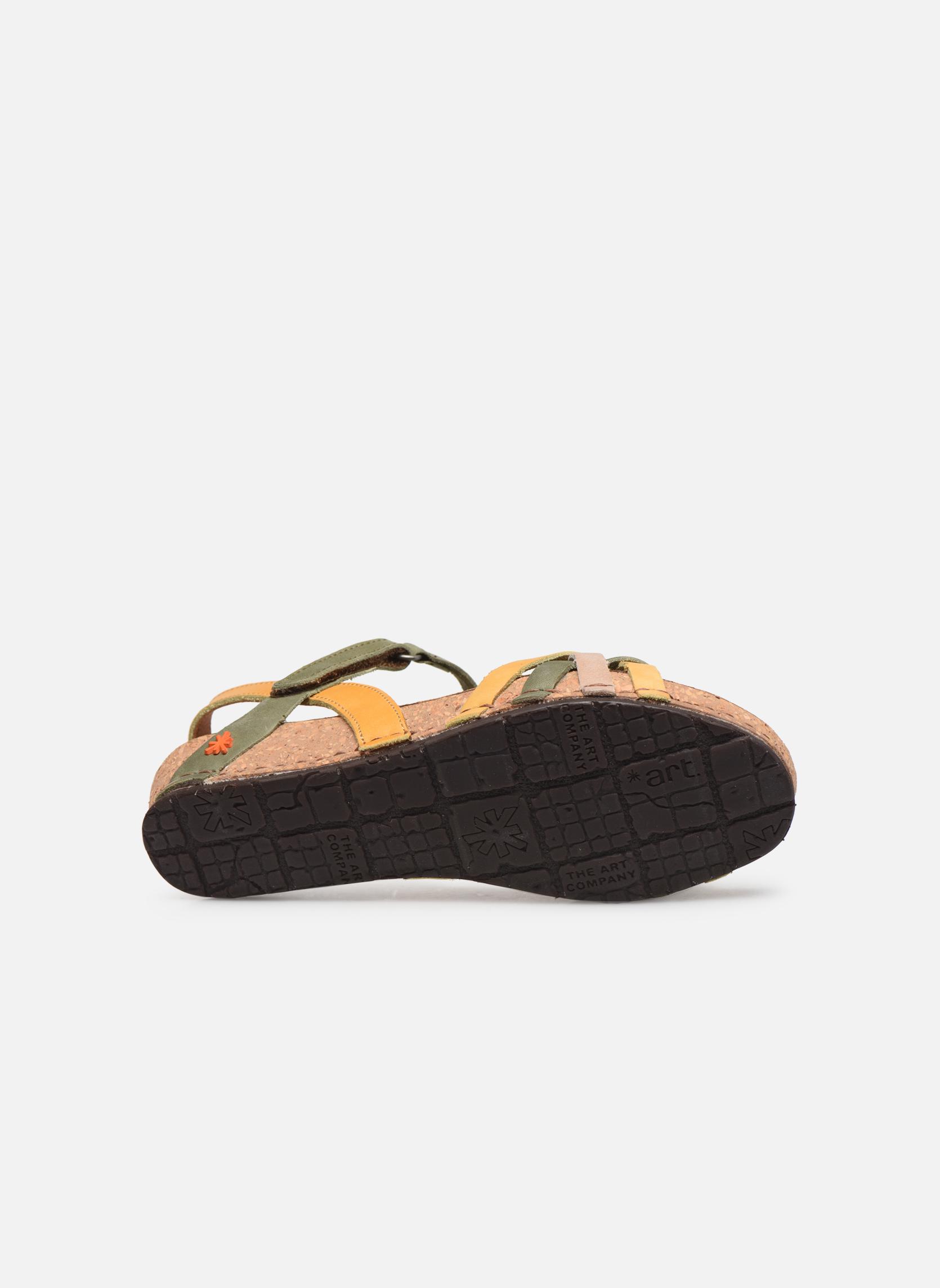 Sandales et nu-pieds Art Pompei 735 Multicolore vue haut