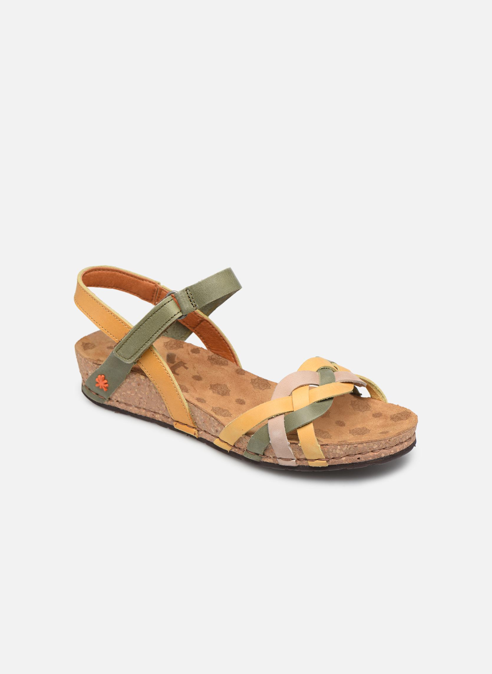 Sandales et nu-pieds Art Pompei 735 Multicolore vue détail/paire