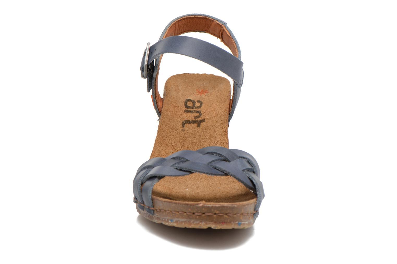 Sandali e scarpe aperte Art Valby 439 Azzurro modello indossato
