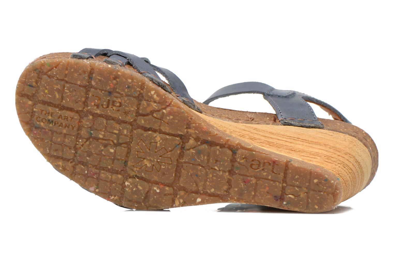Sandali e scarpe aperte Art Valby 439 Azzurro immagine dall'alto