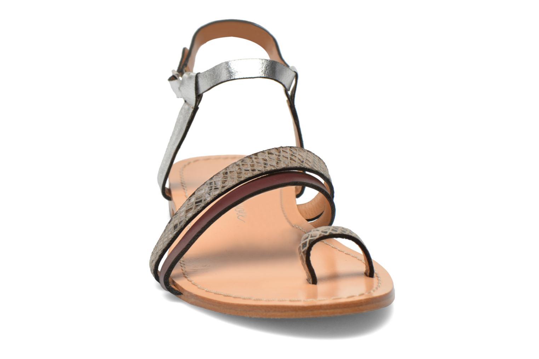 Sandales et nu-pieds Petite mendigote Formentera Multicolore vue portées chaussures