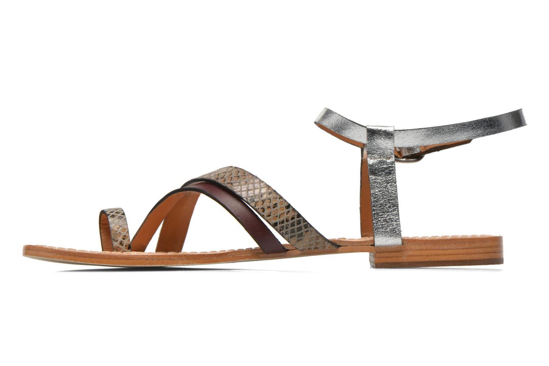 Sandales et nu-pieds Petite mendigote Formentera Multicolore vue face