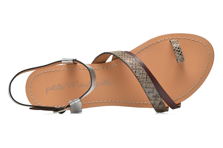 Sandales et nu-pieds Petite mendigote Formentera Multicolore vue gauche