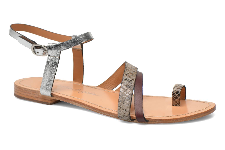 Sandales et nu-pieds Petite mendigote Formentera Multicolore vue détail/paire