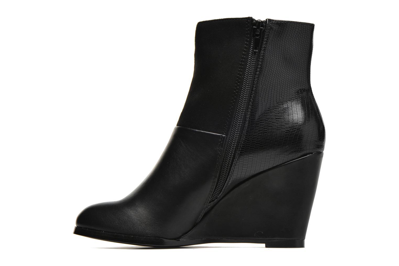Bottines et boots Divine Factory Claire Noir vue face