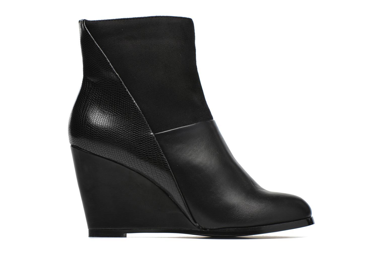 Bottines et boots Divine Factory Claire Noir vue derrière