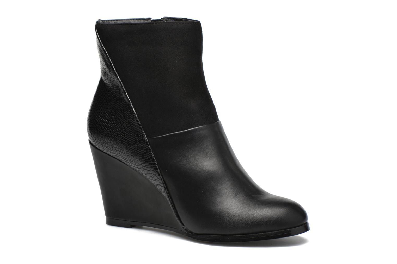 Bottines et boots Divine Factory Claire Noir vue détail/paire