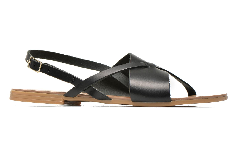 Sandaler Pieces Psjoyce Sort se bagfra
