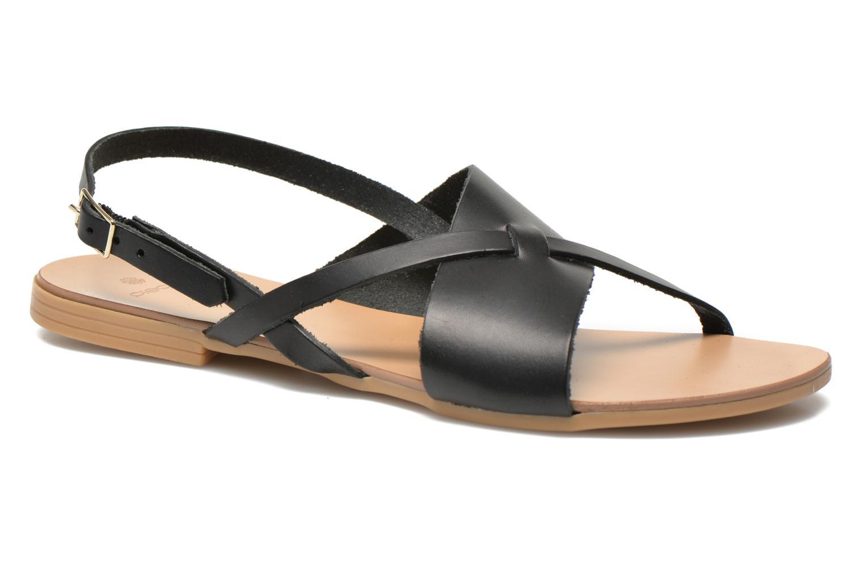 Sandaler Pieces Psjoyce Sort detaljeret billede af skoene