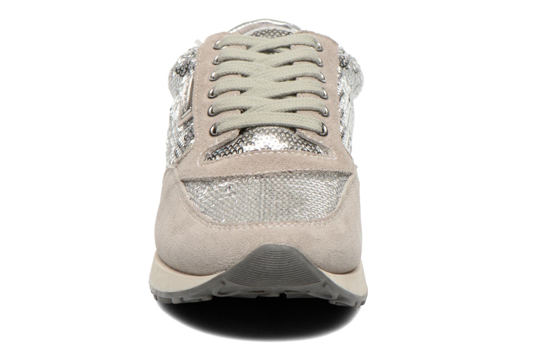 Baskets Les Tropéziennes par M Belarbi Cassie Argent vue portées chaussures