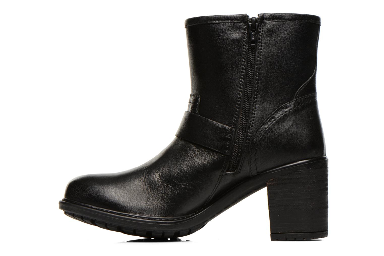 Ankle boots Initiale Paris Carnaby Black front view