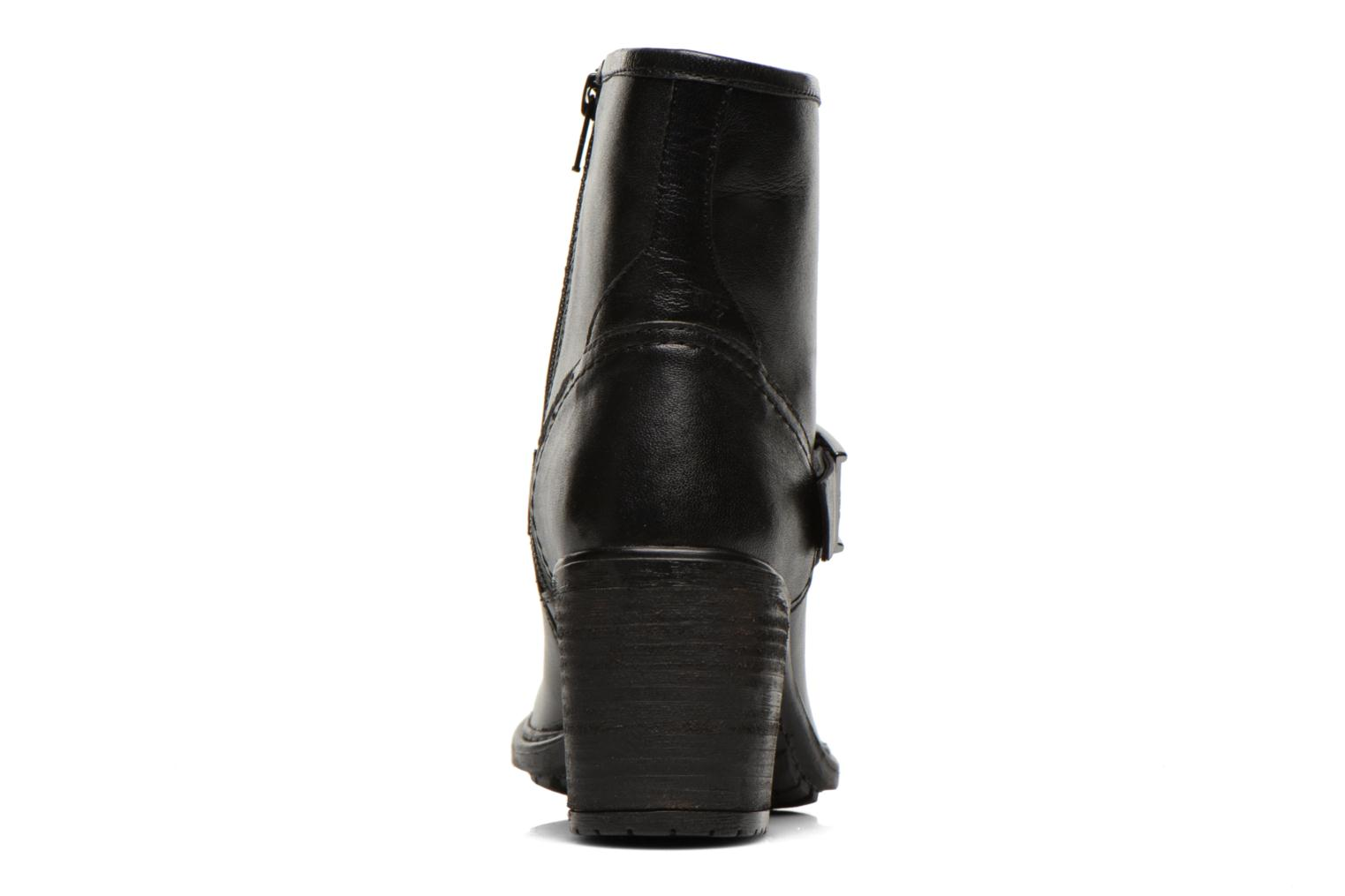 Ankle boots Initiale Paris Carnaby Black view from the right