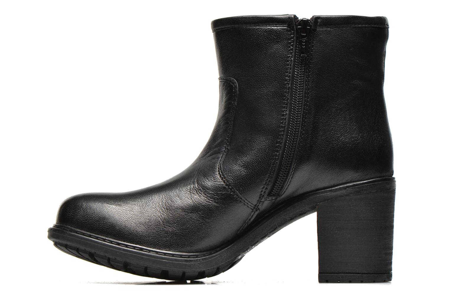 Ankle boots Initiale Paris County Black front view