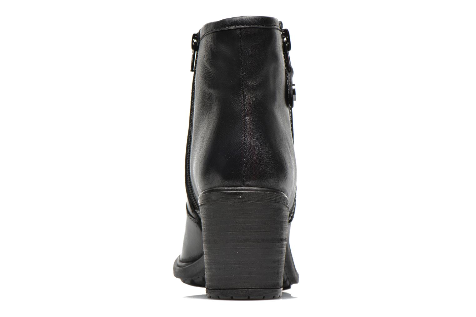 Ankle boots Initiale Paris County Black view from the right