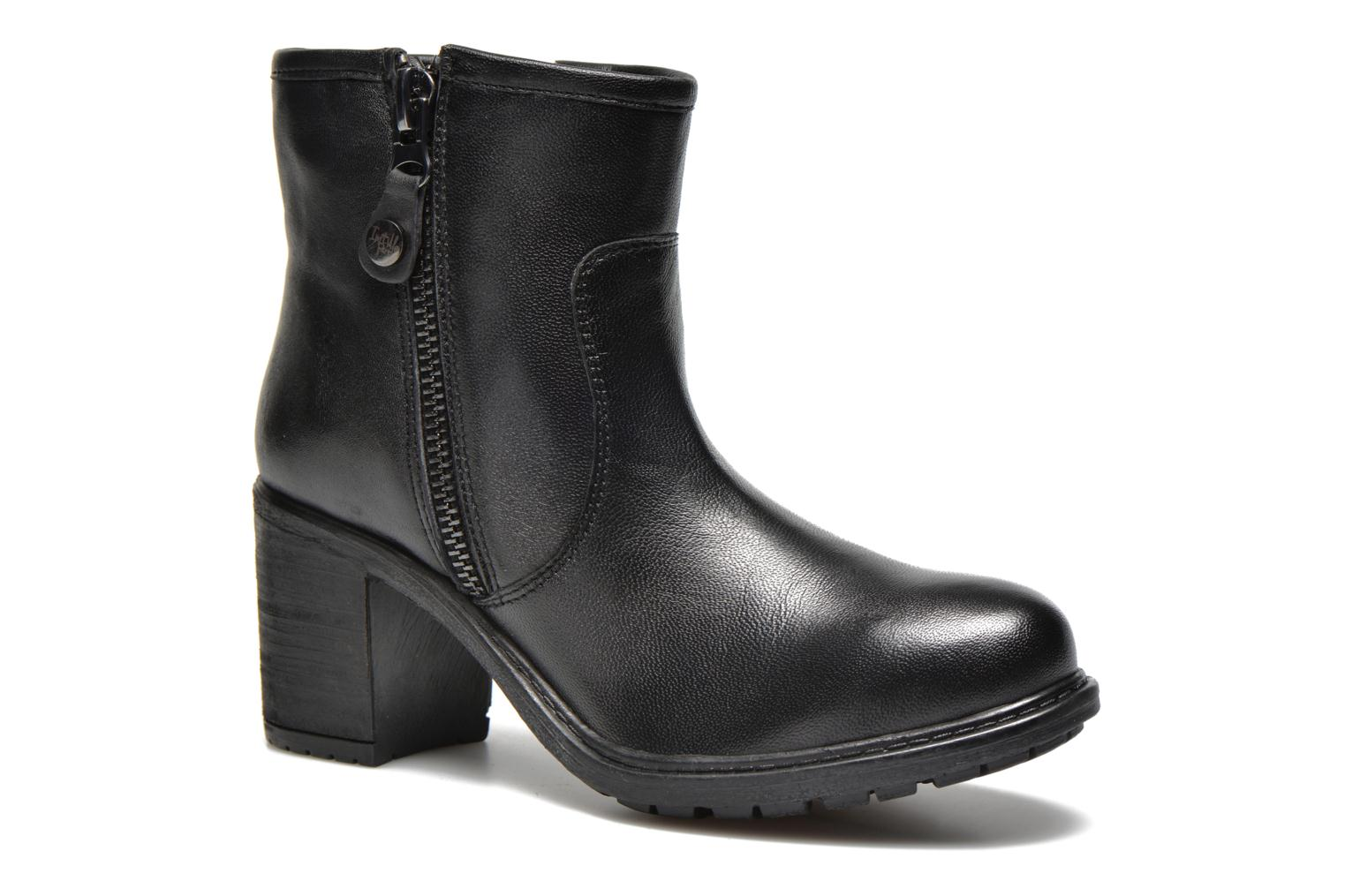 Ankle boots Initiale Paris County Black detailed view/ Pair view