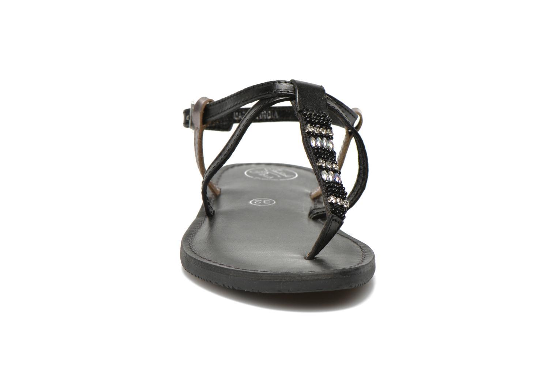 Sandalen Initiale Paris Miro schwarz schuhe getragen