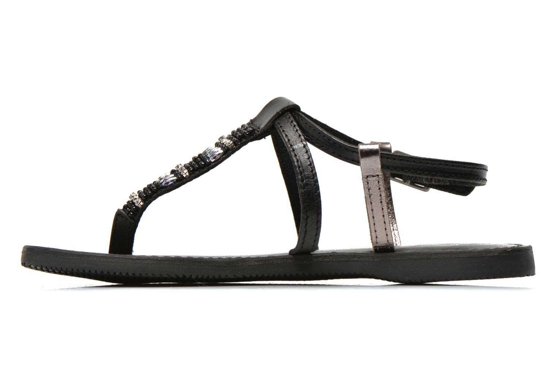 Sandalen Initiale Paris Miro schwarz ansicht von vorne