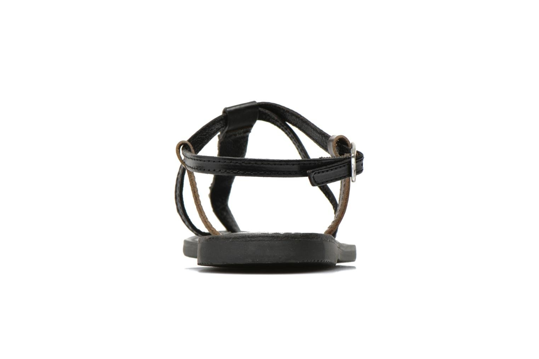 Sandalen Initiale Paris Miro schwarz ansicht von rechts