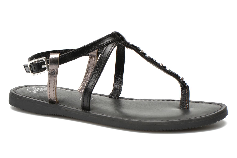 Sandalen Initiale Paris Miro Zwart detail
