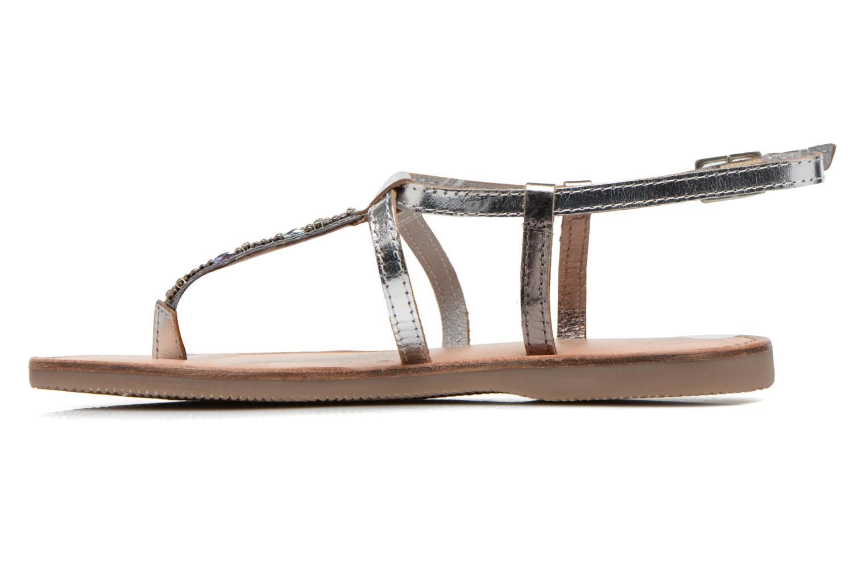 Sandals Initiale Paris Miro Silver front view