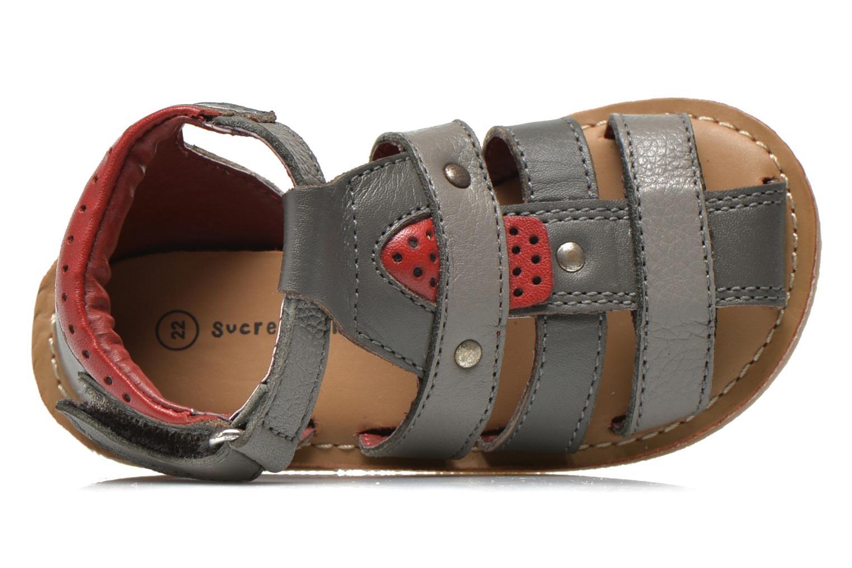 Sandales et nu-pieds Sucre d'Orge Kawan Gris vue gauche