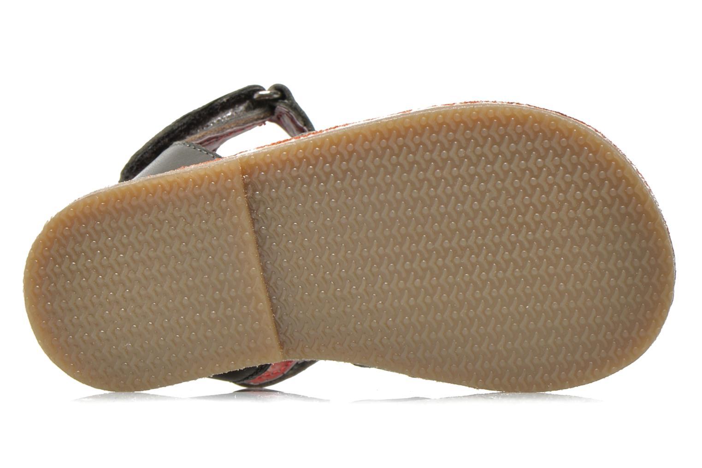 Sandales et nu-pieds Sucre d'Orge Kawan Gris vue haut