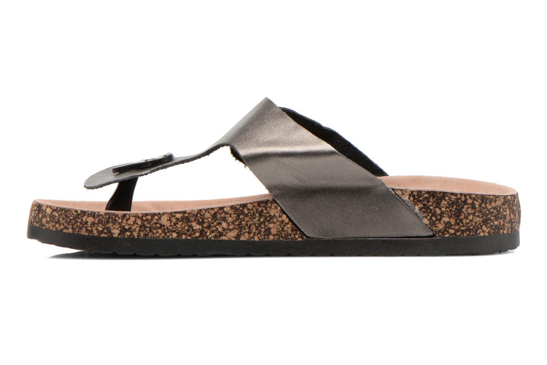 Sandalias I Love Shoes Kirtui Oro y bronce vista de frente