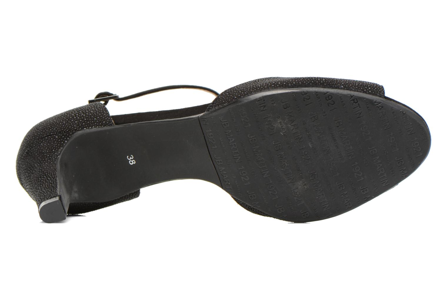 Sandals JB MARTIN Eclair Black view from above
