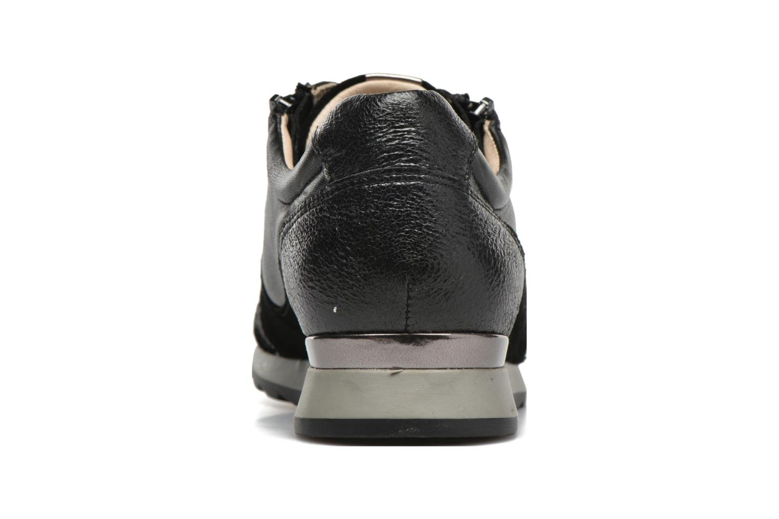 Trainers JB MARTIN 1Veri Black view from the right