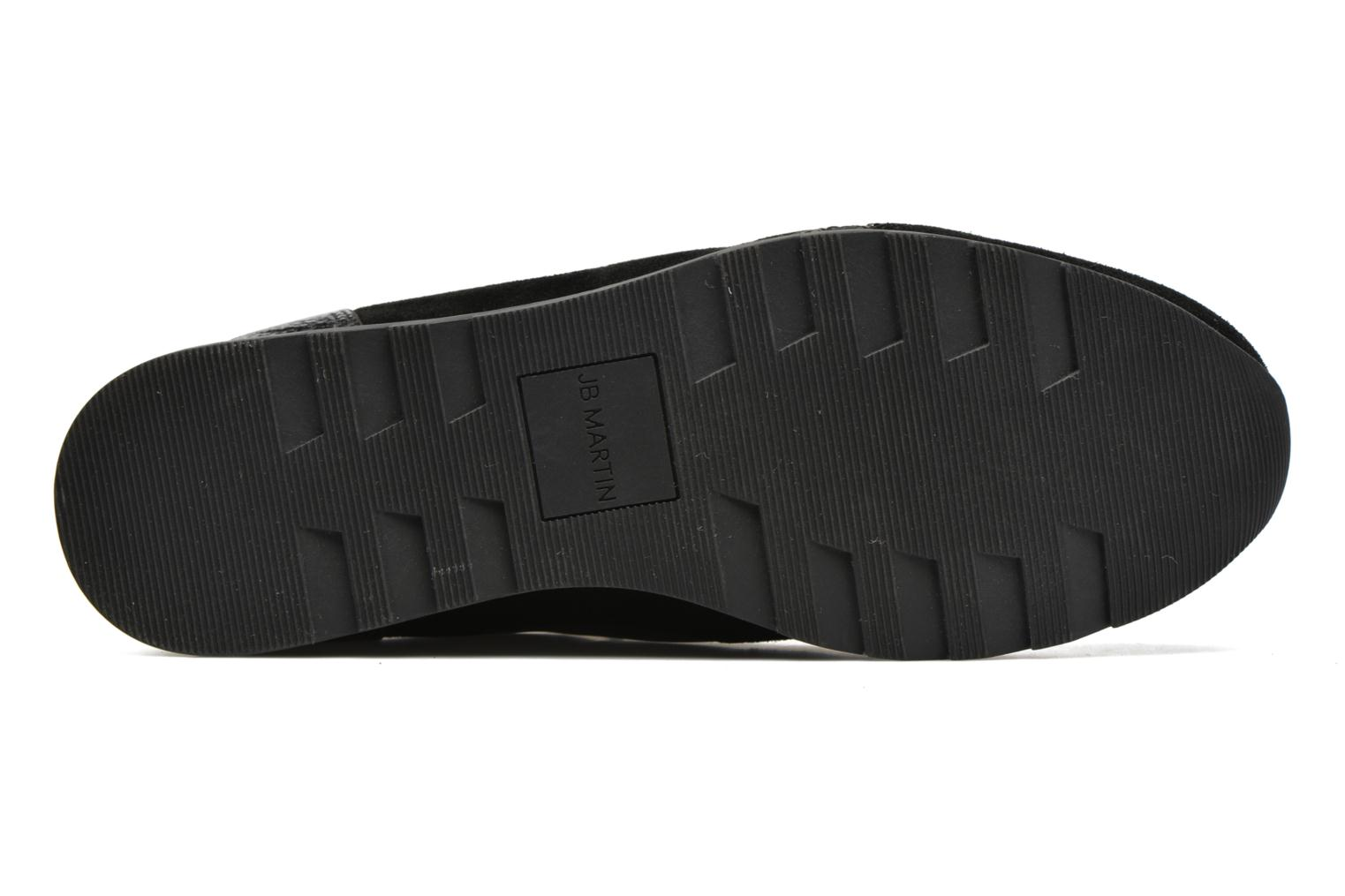 Trainers JB MARTIN 1Veri Black view from above
