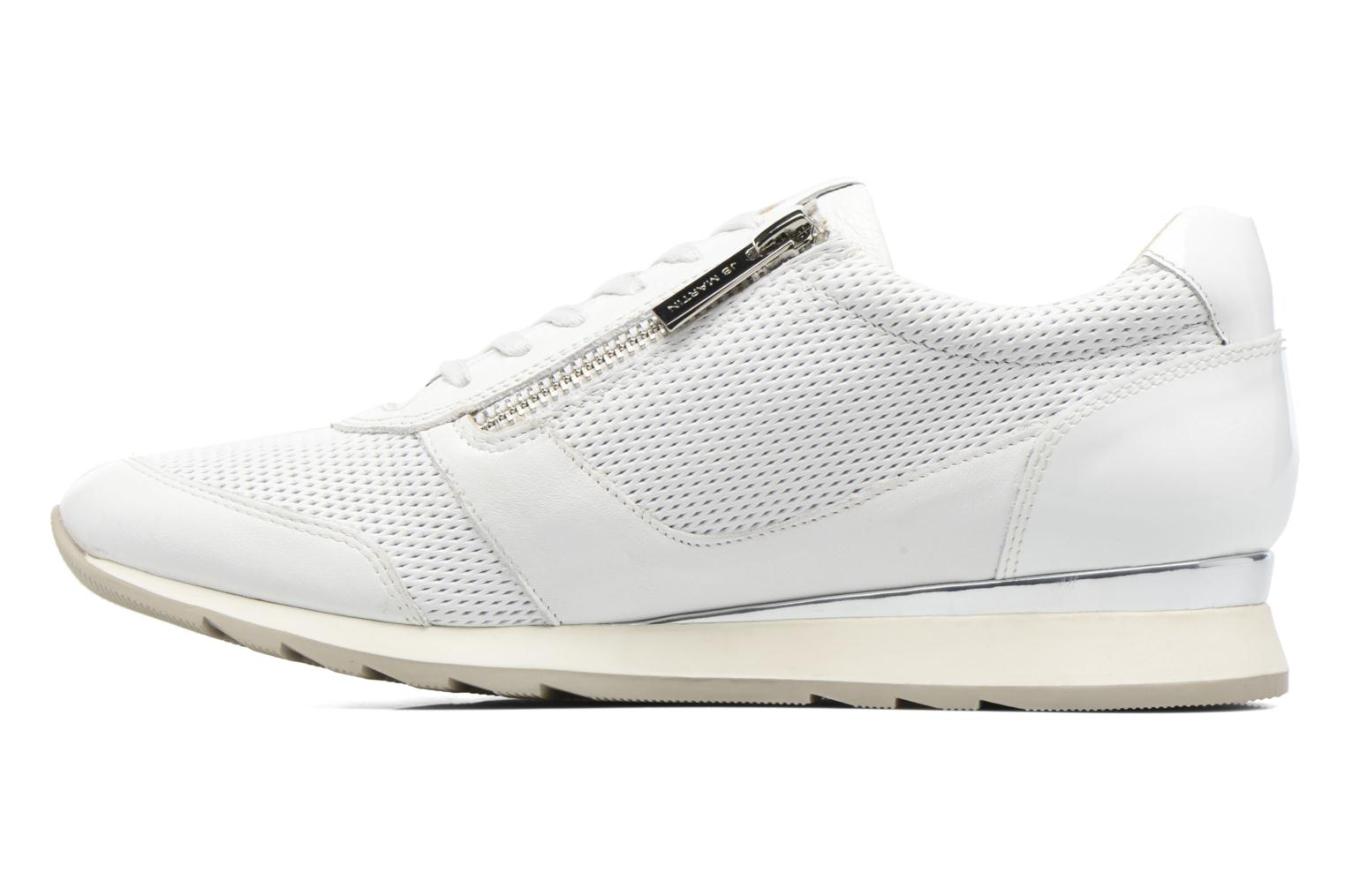 Trainers JB MARTIN 1Veri White front view