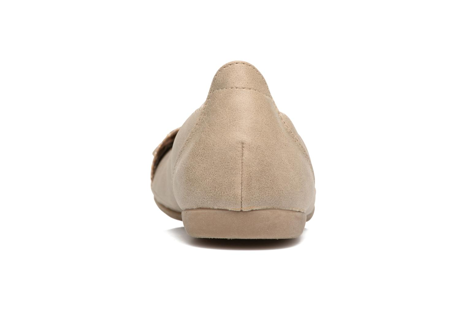 Ballet pumps Marco Tozzi Kilina Beige view from the right