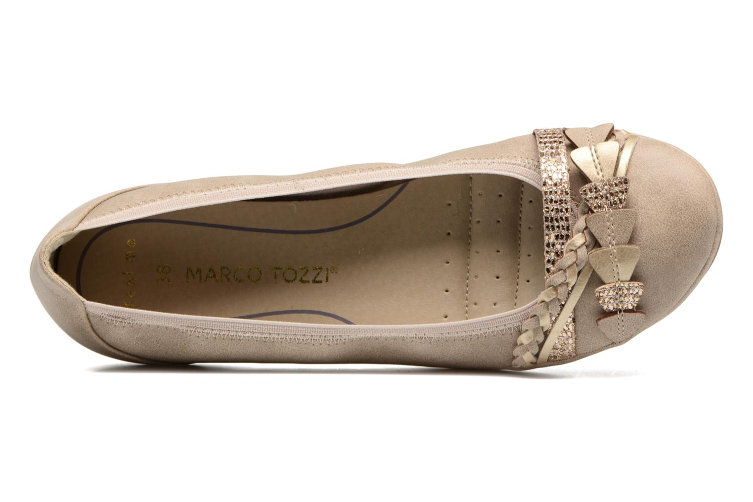 Ballet pumps Marco Tozzi Kilina Beige view from the left