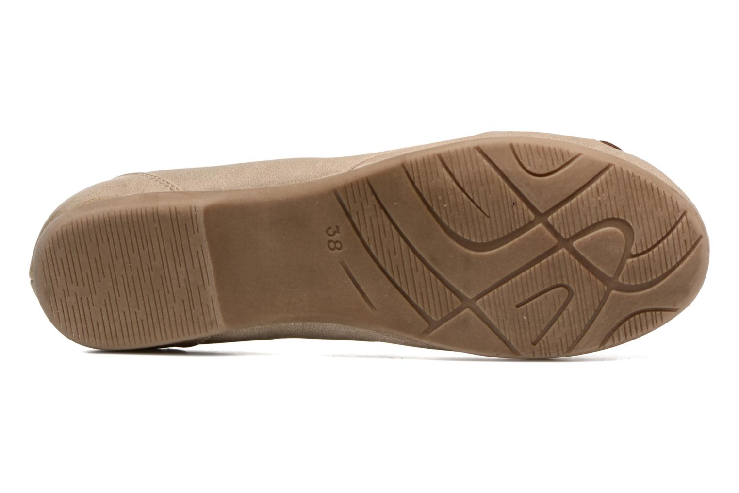 Ballet pumps Marco Tozzi Kilina Beige view from above