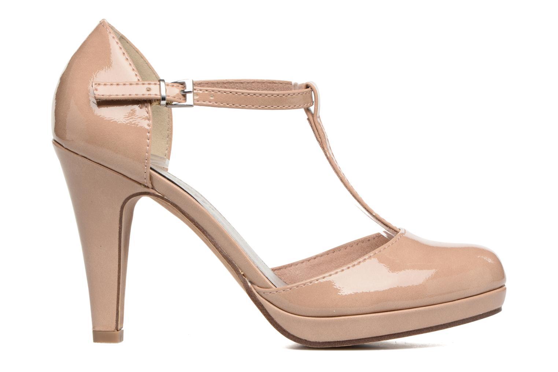 High heels Marco Tozzi Talia Beige back view