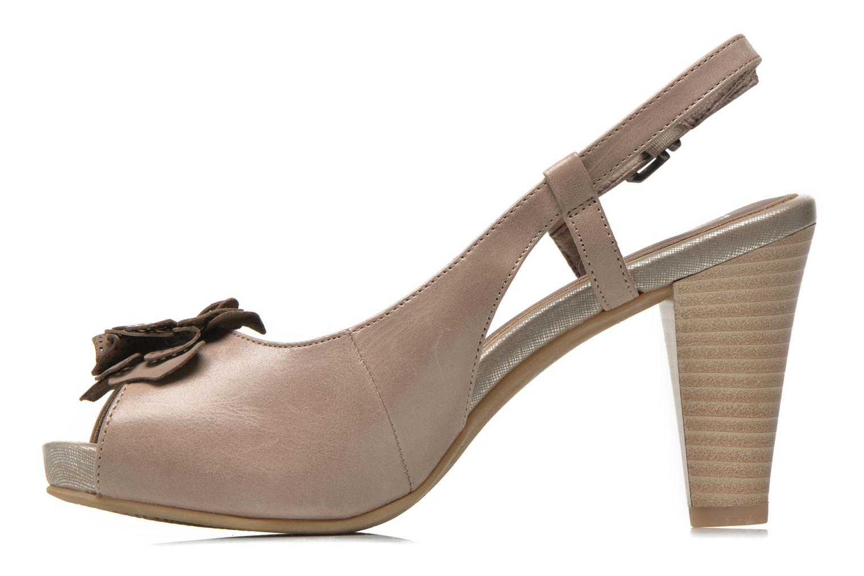 Sandales et nu-pieds Marco Tozzi Polinna 2 Beige vue face