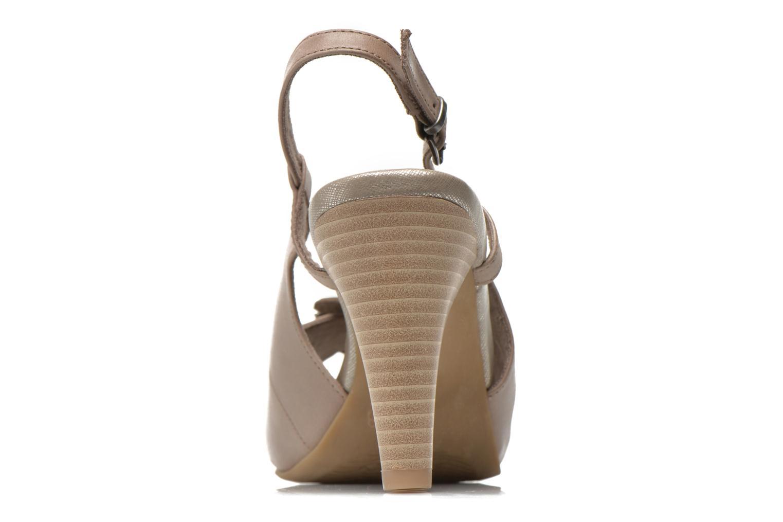 Sandales et nu-pieds Marco Tozzi Polinna 2 Beige vue droite