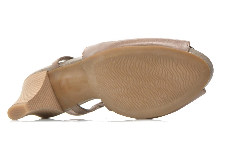 Sandales et nu-pieds Marco Tozzi Polinna 2 Beige vue haut