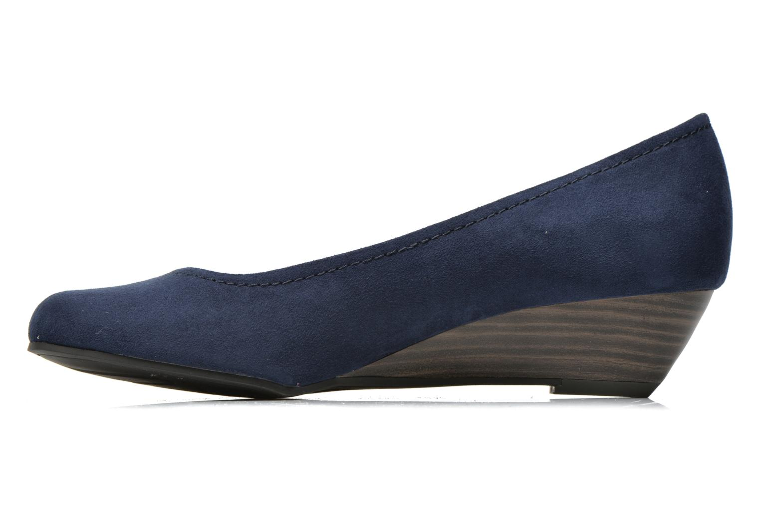 High heels Marco Tozzi Imit 2 Blue front view