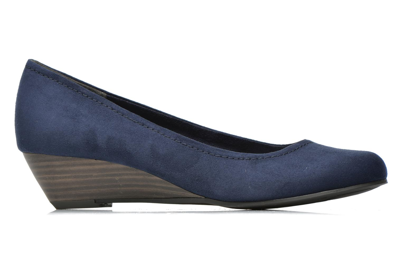 High heels Marco Tozzi Imit 2 Blue back view
