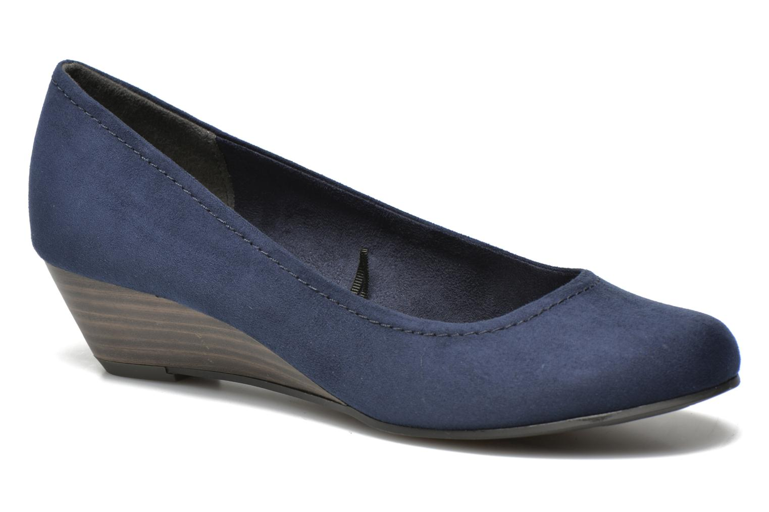 High heels Marco Tozzi Imit 2 Blue detailed view/ Pair view