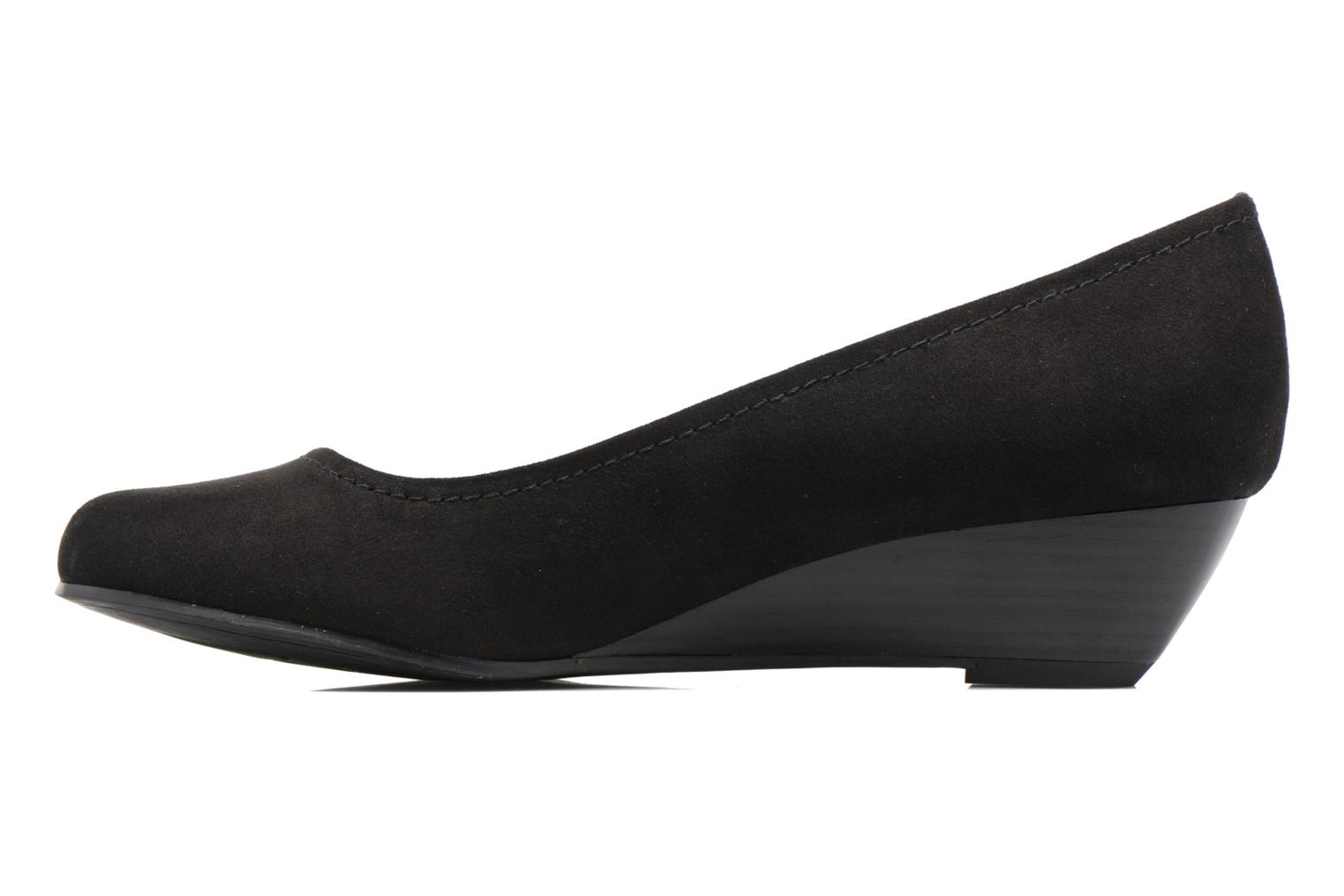 High heels Marco Tozzi Imit 2 Black front view