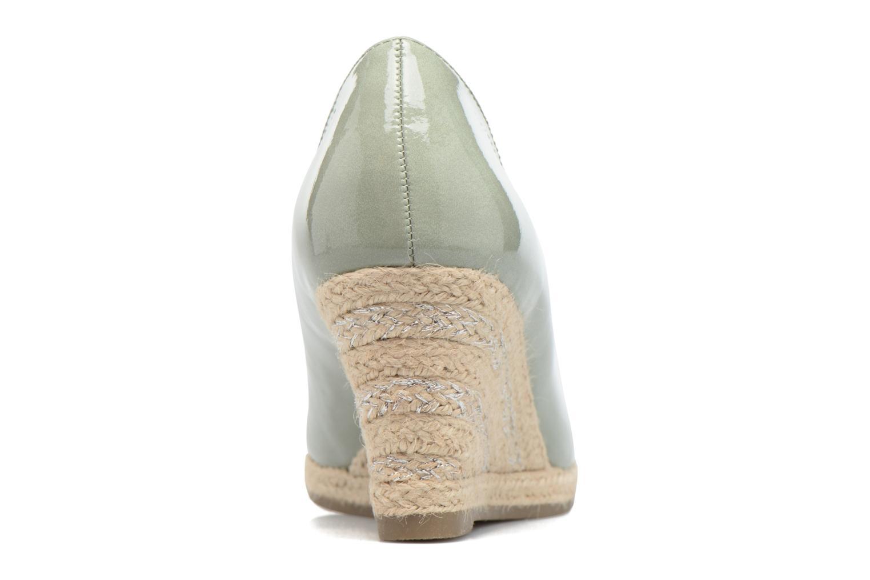 Zapatos de tacón Marco Tozzi Lanily Verde vista lateral derecha