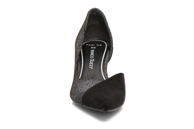 Escarpins Marco Tozzi Doseta Noir vue portées chaussures