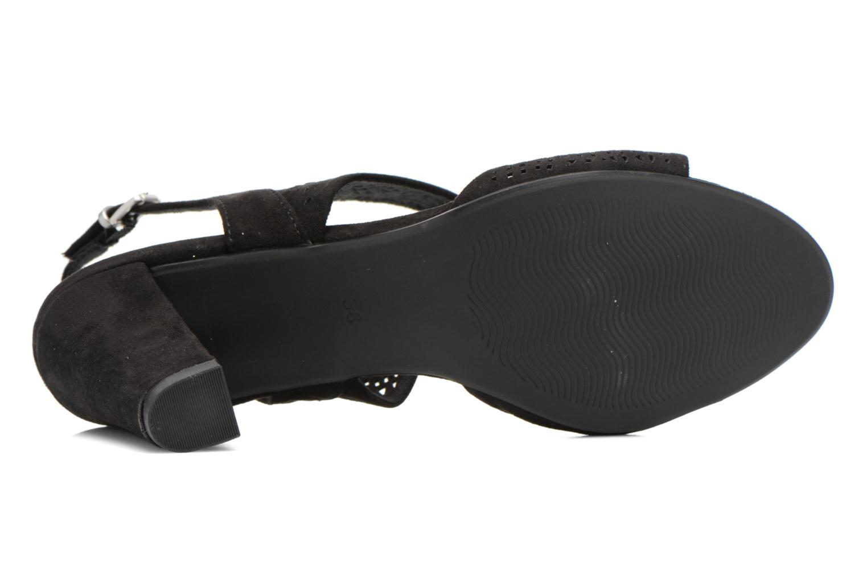 Sandales et nu-pieds Marco Tozzi Cavana Noir vue haut