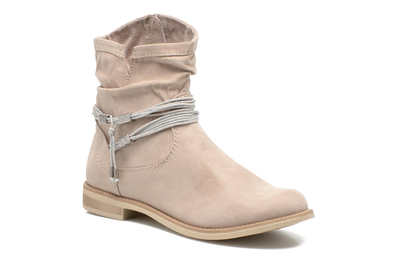 Ankelstøvler Marco Tozzi Chloey 2 Beige detaljeret billede af skoene