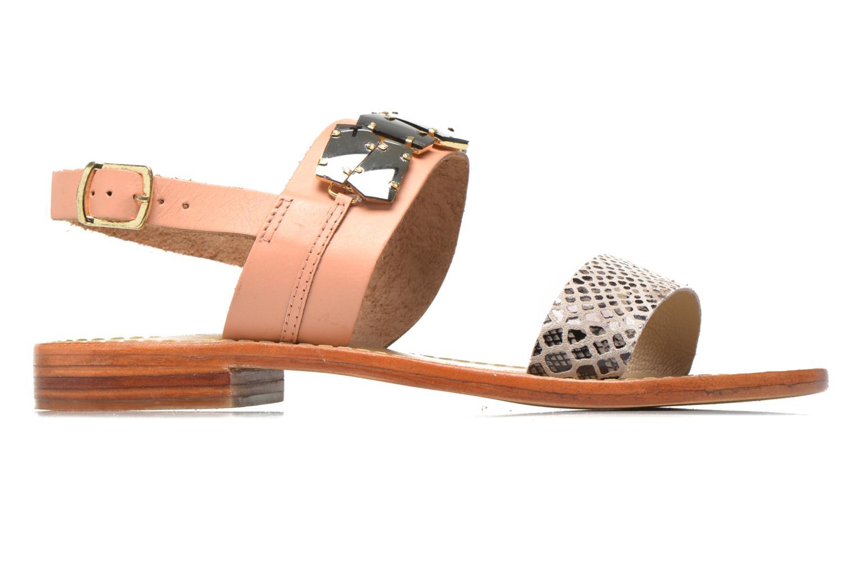 Sandales et nu-pieds Elizabeth Stuart Havanne 887 Rose vue derrière