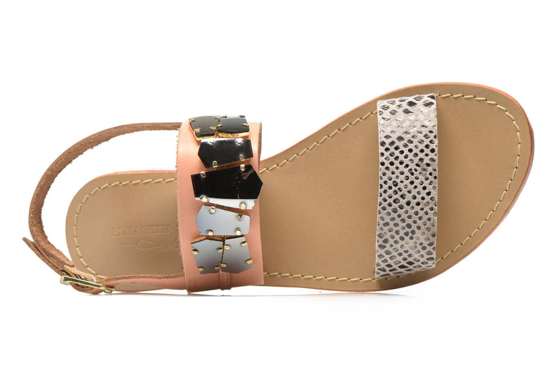 Sandali e scarpe aperte Elizabeth Stuart Havanne 887 Rosa immagine sinistra