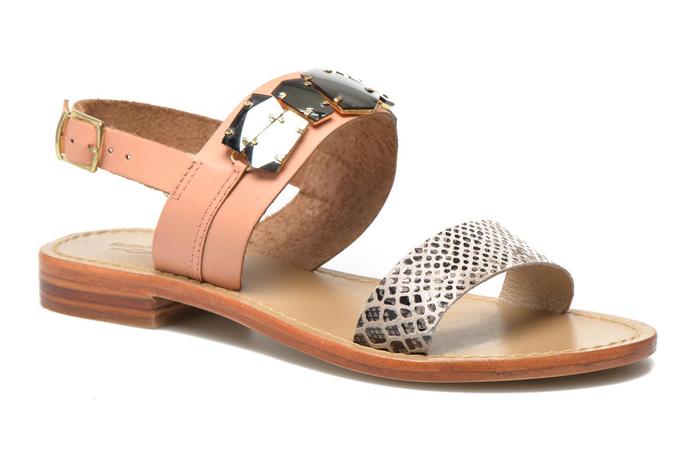 Sandales et nu-pieds Elizabeth Stuart Havanne 887 Rose vue détail/paire